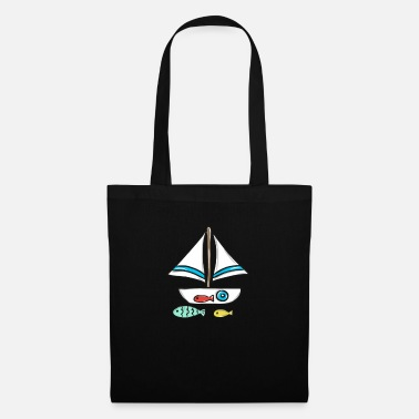 Boat sailboat - Tote Bag
