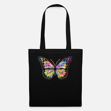 Yellow Pansexual Butterfly design Streetwear Graffiti - Tote Bag