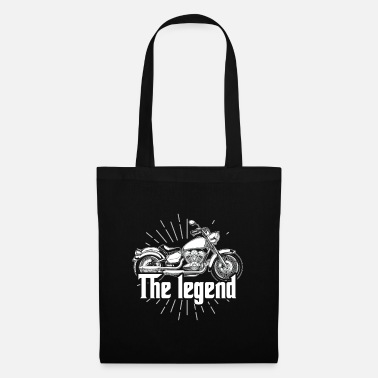 Car Biker Riding Motorcycle Best Gift For Driver - Tote Bag