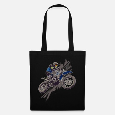 Motociclista Motocross Off Road Biker Dirt Bike - Bolsa de tela