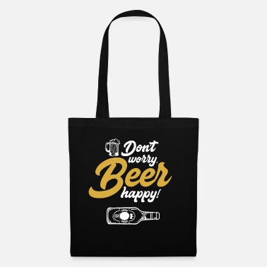 Brandy Beer happy - beer, alcohol, drinking, brewer - Tote Bag