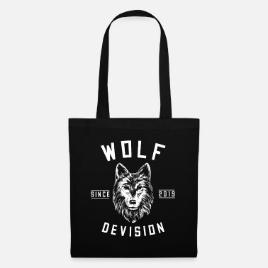 Yell Wolf Forest Hunter Mountain yell Gray Gray King - Tote Bag