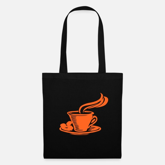Love Bags & Backpacks - Coffee - Tote Bag black
