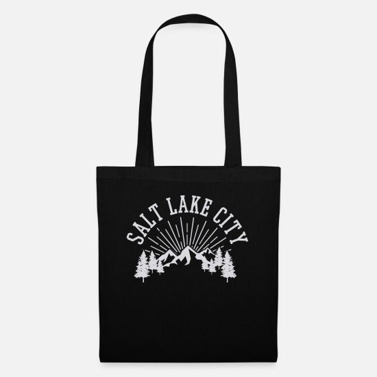 Utah Bags & Backpacks - Salt Lake Utah - Tote Bag black