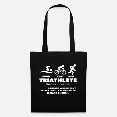 Triathlet triathlete - Tote Bag