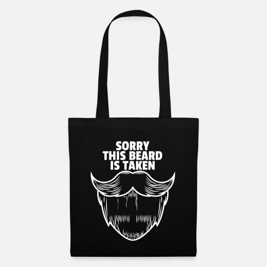Birthday Bags & Backpacks - Beard bearded bearded bearer hipster beard gift - Tote Bag black