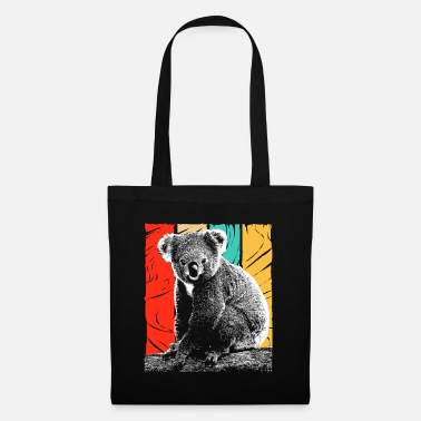 Hipster Koala Bear Australia Backpacker Koala Animal Welfare - Tote Bag