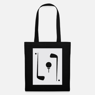 Golf Clubs Golf golf clubs and golf ball - Tote Bag