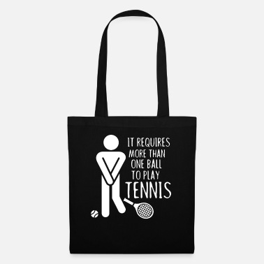 Birthday More then one ball to play Tennis - Squash, Gesche - Tote Bag