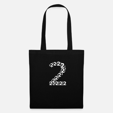 Jersey Number Two Number 2 Birthday Gift Anniversary Second - Tote Bag