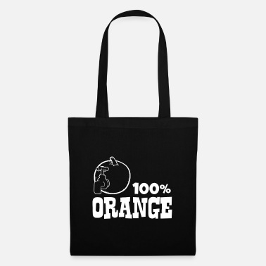 Orange Orange - 100% orange - Tote Bag