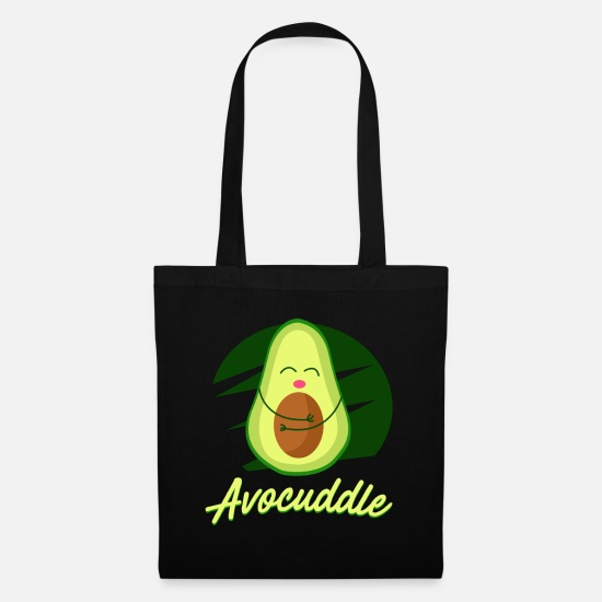 Free Hugs Bags & Backpacks - Sweet cuddly avocado - Tote Bag black