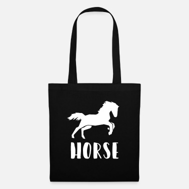 Horse Riding horses equitation - Tote Bag