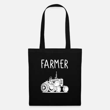 Farmers Wife Farmer farm agriculture farmer field - Tote Bag