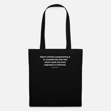 Object-oriented Object-oriented programming is an exceptionally ba - Tote Bag