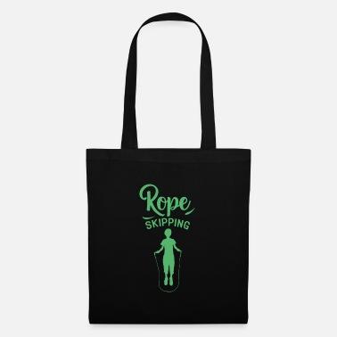 Rope jumping rope Roping rope jump rope - Tote Bag