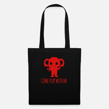 Lazy Elephant - Elephant / COME PLAY WITH ME - Tote Bag