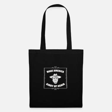 Rodeo Cowboy drover cows Wild West - Tote Bag