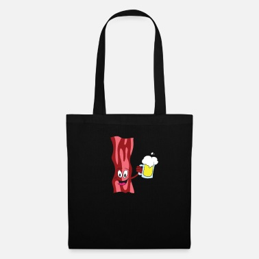 Clubbers Bacon Beer Bacon Drinking Beer Gift - Tote Bag