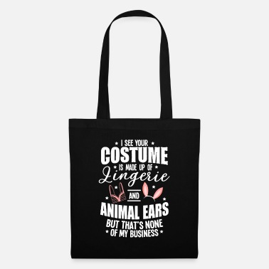 Witch Underwear Halloween Sexy Ears Underwear Costume Gifts - Tote Bag