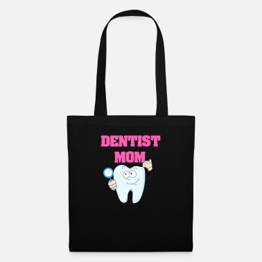 Grad Student Dentist Mom - Mom Dentist Gift - Tote Bag