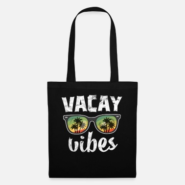 Please Vintage Vacay Vibes TShirt Kids Hawaii Palm Beach - Tote Bag