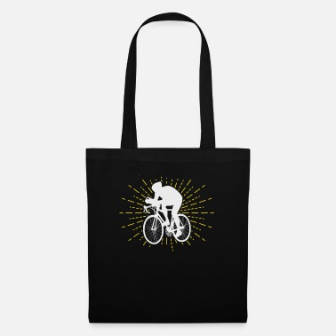 Mountain Biker Bicycle racing bike - Tote Bag