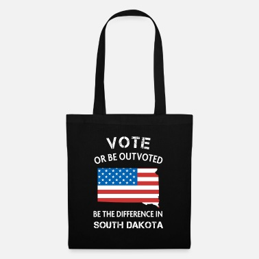 Vote South Dakota Voter Difference Election Vote 2020 - Tote Bag