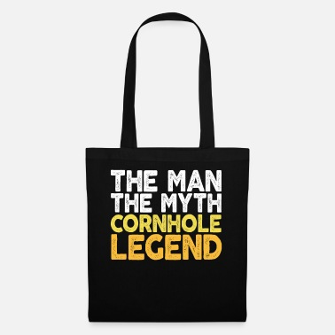 4th Of July The Man The Myth The Cornhole Legend TShirt Bean - Tote Bag