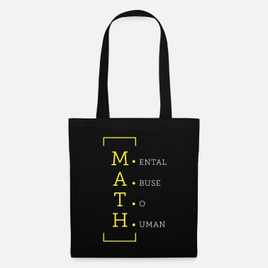 Psychic Math psychic abuse of people - Tote Bag
