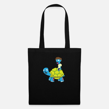 Gawkclothing Turtle Zombie Halloween Costume Gift - Tote Bag