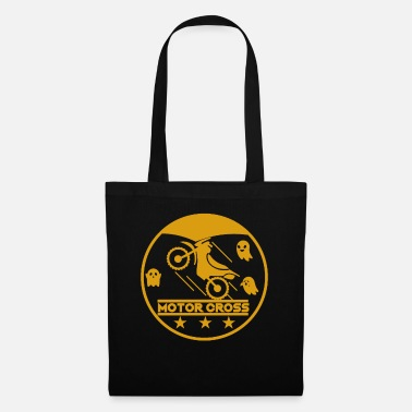Scooter Halloween Motorcross Motorcross Driver Cross Stunt - Tote Bag