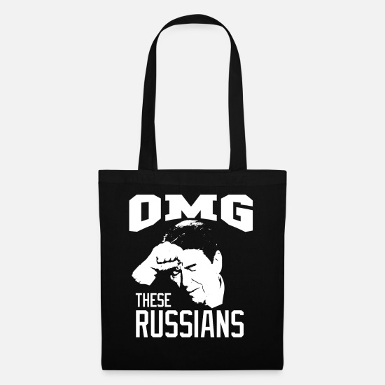 Election Bags & Backpacks - Oh My God, These Russians | Ronald Wilson Reagan - Tote Bag black