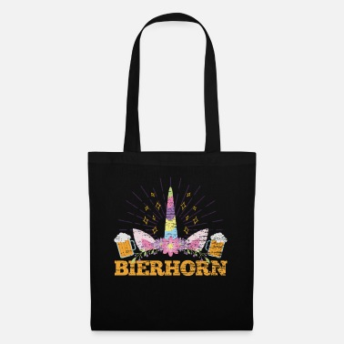 Political Activist Unicorn beer alcohol - Tote Bag