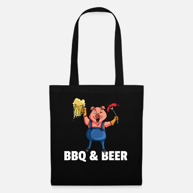 Birthday For Dad BBQ Barbeque Barbecue Grill Master Pig - Tote Bag