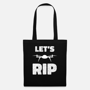 Girls Lets Rip - drone, quadrocopter, flight, crash - Tote Bag