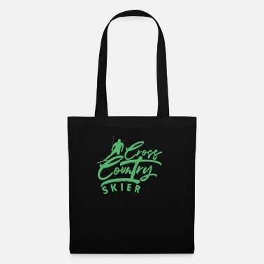 Cross Country Winter cross-country skiing cross-country skiing XC ski cross-country skiing - Tote Bag