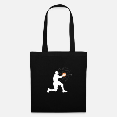 Father Certified basketball player gift art - Tote Bag