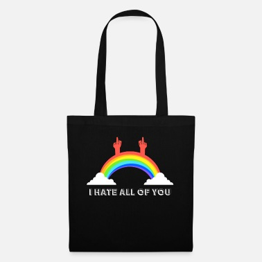 You I hate you all - Tote Bag