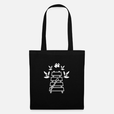Father Xylophone musical instrument Christmas theme gift - Tote Bag