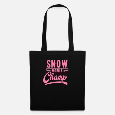 Vehicle Snowmobile mobile mom snow snowmobile - Tote Bag