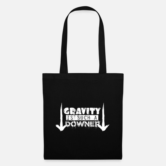 Birthday Bags & Backpacks - Gravity - Tote Bag black