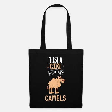 Dromedary Just A Girl Who Loves Camels Dromedary Gift Camel - Tote Bag