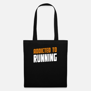 Hobby Addicted To Running Lopning Gift - Tote Bag