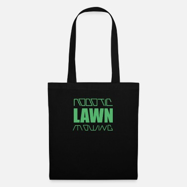 Grass Lawn mow mower robotic lawn mower robot - Tote Bag