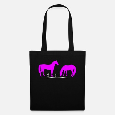 Pony Stall Riding horses - Tote Bag