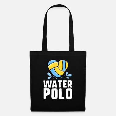 Waterpolo Love Waterpoloshirt Dames Meisjes Mom Coach Team - Stoffentas