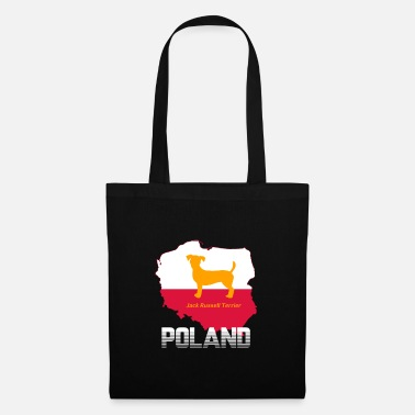 Dog Paw Jack Russell Terrier Dog Poland Card Art Gifts - Tote Bag