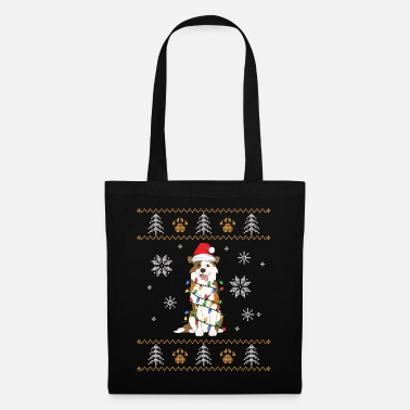 North Ugly Christmas Australian Shepherd Family Xmas - Tote Bag