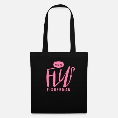 Flight Rod angler fly fly fisherman fly fishing - Tote Bag